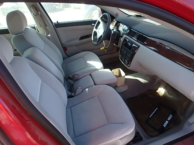 2007 CHEVY IMPALA LS Red, Light Grey Cloth Interior, 6 Cylinder, 3.5 Liter,  Auto, Front Wheel Drive, 4 Door, A/c, Cruise, Tilt, Am/fm/cd, Power Locks,  ...
