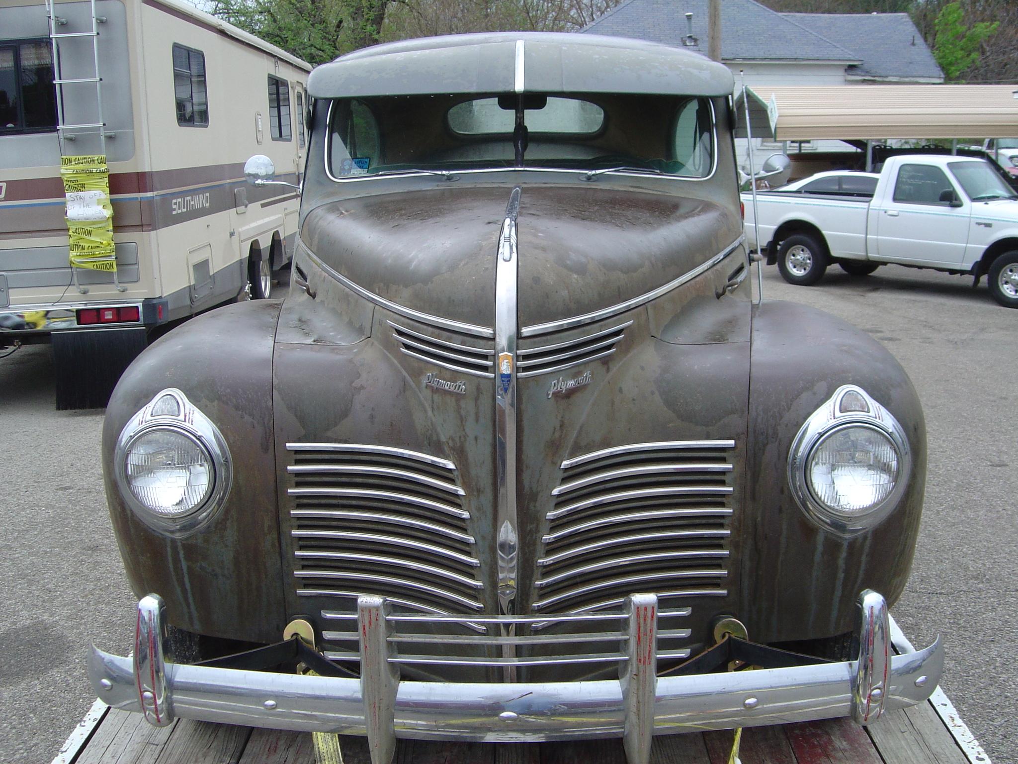 1940 plymouth two door sedan for 1940 plymouth 2 door sedan