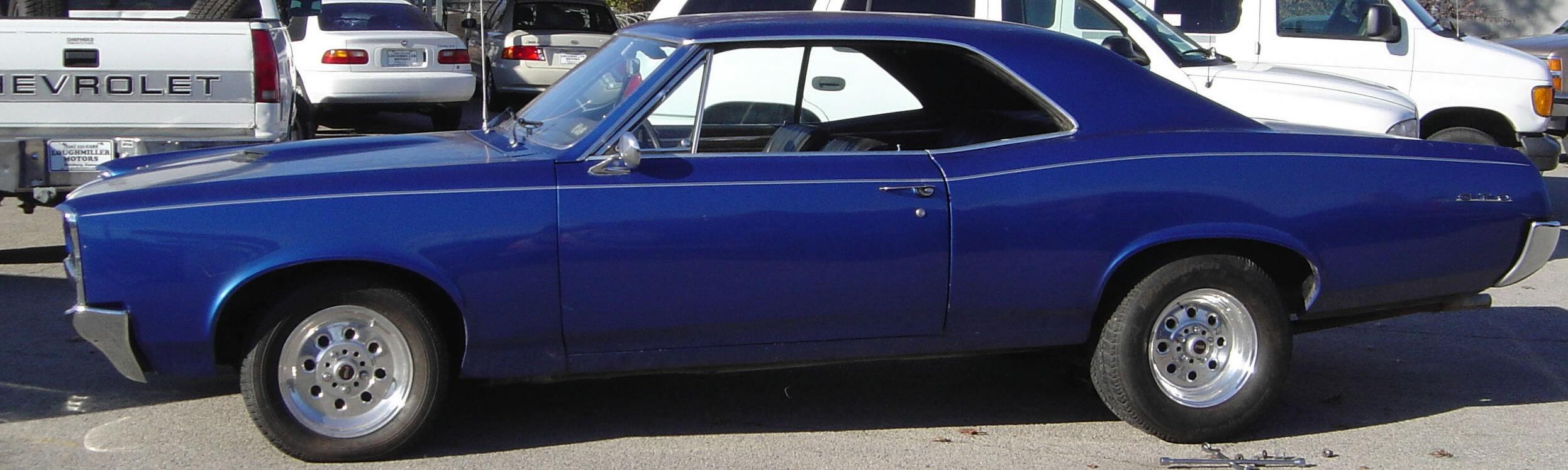 1967 Pontiac GTO, SOLD!,