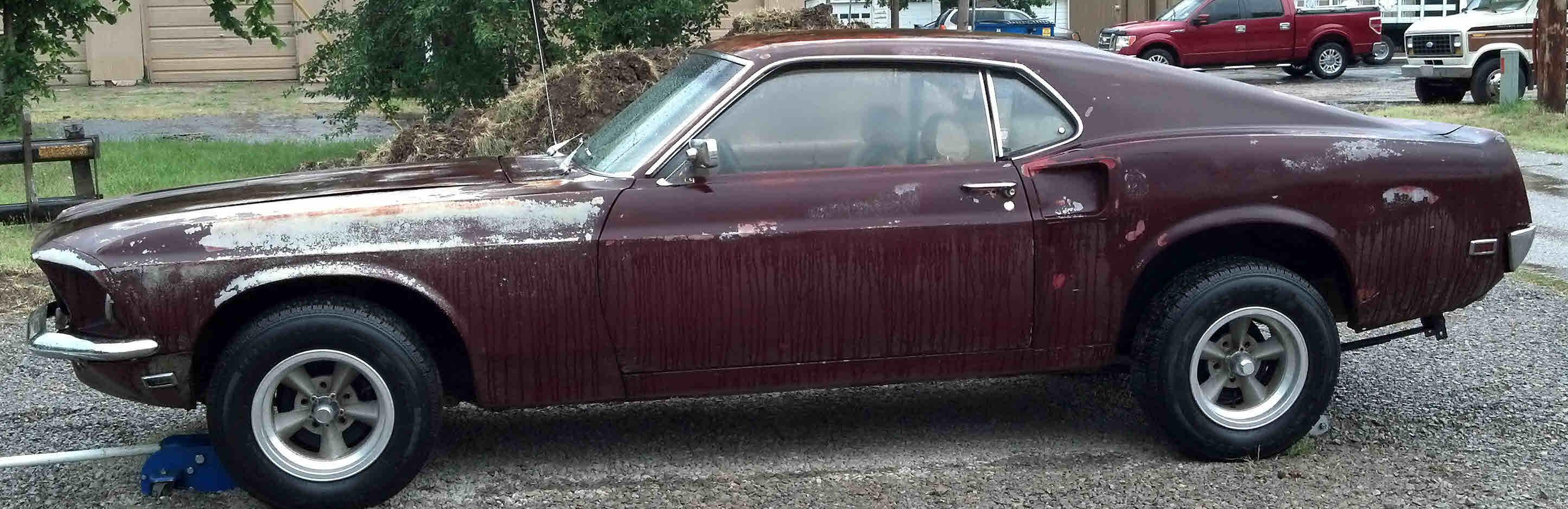 Loughmiller Motors 1930 Model A Wiring Harness 1969 Ford Mustang Fastback Sold Originally Bright Red White Vinyl Seats Black Carpet 302 V 8 Auto C 4 2 Door Am Radio