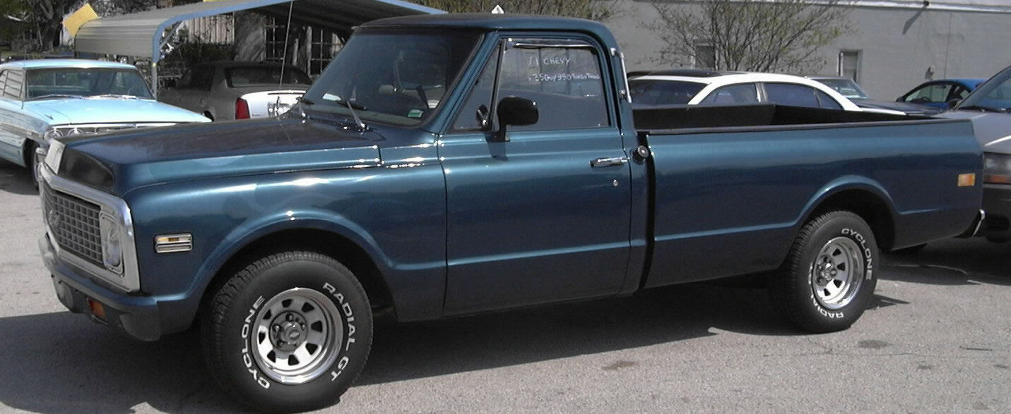 1971 Chevy pickup, SOLD!,