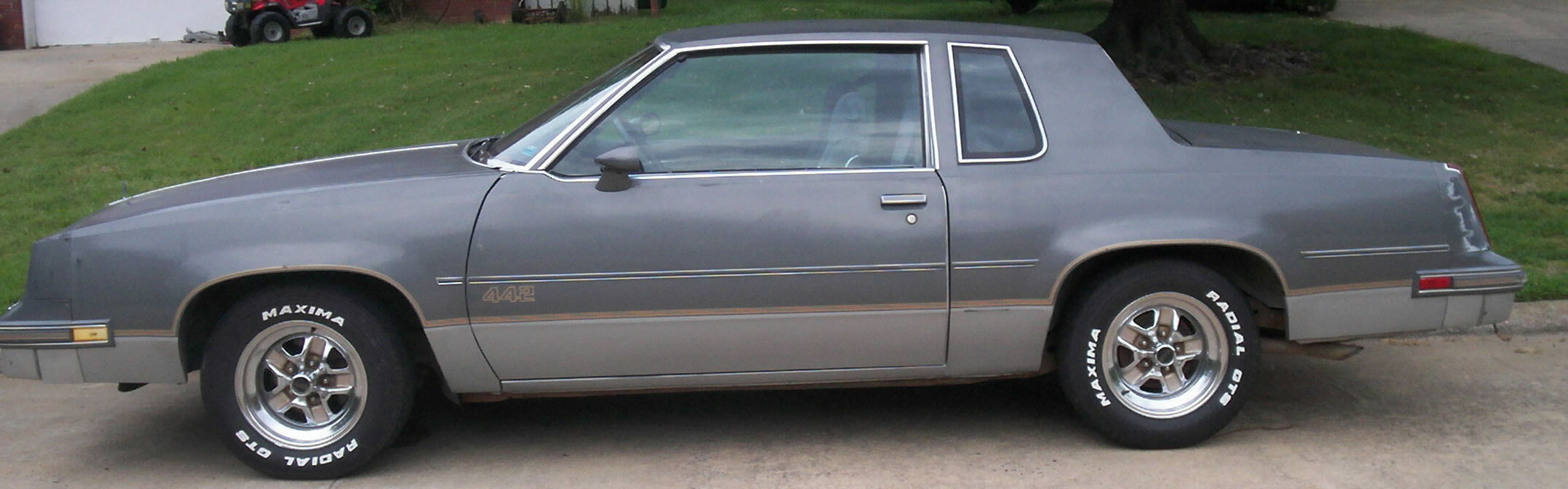 1985 Olds 442 Sold Two Tone Grey Flawless Light